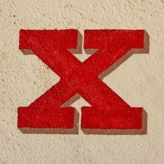 letter X by Leo Reynolds, via Flickr