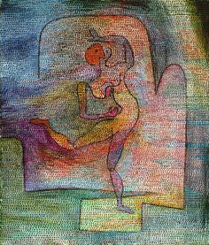 Dancer (1932) Paul Klee more works by this artist