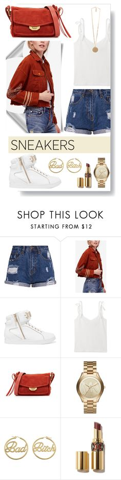"""""""Outfit #191"""" by emydeishly ❤ liked on Polyvore featuring Free People, Just Cavalli, rag & bone, Michael Kors, me you, Givenchy and modern"""