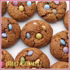 DONNA CARAMELLA: Cookies met smarties