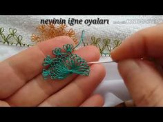 Needle Tatting, Needle Lace, Pearl Earrings Wedding, Crochet Stitches, Fiber Art, Hand Embroidery, Make It Yourself, Model, Craft Flowers