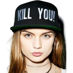 Adeen Kill You! Snapback (61 AUD) ❤ liked on Polyvore