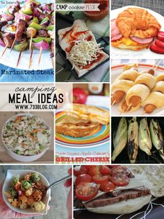 seven thirty three - - - a creative blog: Meal Planning for Camping