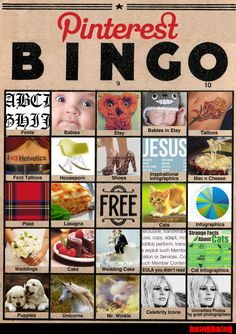 Pinterest Bingo.
