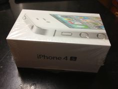 My brand new sealed box iPhone 4S. Purchased it on Friday, December 30, 2011. Not using it anymore. Sold it off.