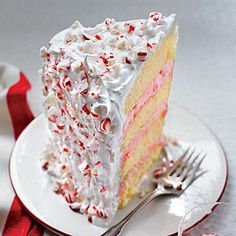 This is a towering peppermint-lover's dream. Clear about 14 square inches of room in your freezer before you begin.