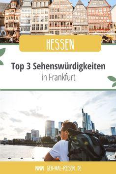 Frankfurt ist die Bankenstadt Deutschlands. Doch es gibt hier weitaus mehr zu entdecken, als nur Wolkenkratzer. Frankfurt hat auch seine ganz leisen und überraschend schönen Ecken. Wir zeigen euch unsere Top 3. Kurzurlaub   Reisen   Schöne Städte #gehmalreisen