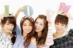(左から)秋元真夏、桜井玲香、白石麻衣、高山一実(画像提供:主婦の友社)
