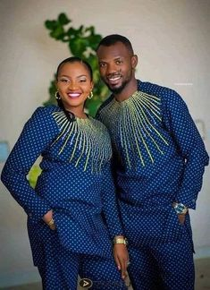 Couples African Outfits, African Attire For Men, African Wear Dresses, African Clothing For Men, African Shirts, Latest African Fashion Dresses, Couple Outfits, African Print Fashion, African Women