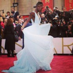 Gorgeous Queen! Lupita Nyong'o Oscars 2014