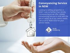Conveyancing Service in NSW - Looking to sell/buy properties in NSW? Look no further than Strictly Conveyancing as we offer reliable conveyancing service in NSW with the aim to satisfy all of our client's needs. Call us @ 02 9630 5553 for your service needs. Sydney Area, This Is Us, Stuff To Buy, Things To Sell