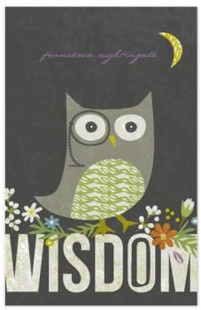 Wisdom by Griffinbell Paper Co. for Minted.
