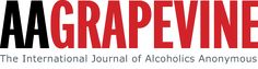 The AA Grapevine is the international journal of Alcoholics Anonymous. Written, edited, illustrated, and read by AA members and others interested in the AA program of recovery from alcoholism, the Grapevine is a lifeline linking one alcoholic to another.
