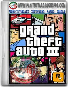 GTA 3 PC Game Cover