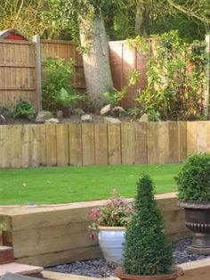 Stuart Watson's epic garden transformation with new railway sleepers Photo 5