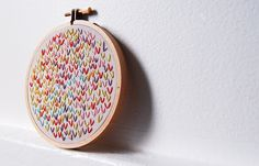 Embroidery...love this