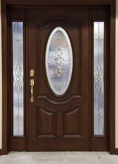 front door paint colors - Want a quick makeover? Paint your front door a different color. Here's some inspiration for you. Best Front Doors, Modern Front Door, Wood Front Doors, Exterior Front Doors, Painted Front Doors, Wooden Doors, Main Door Design, Wooden Door Design, Front Door Design