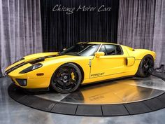 The Holistic Green Garden: 2006 Ford GT Heffner Twin Turbo Coupe High End Cars, Ford Shelby, Ford Gt40, Twin Turbo, Old Cars, Exotic Cars, Cars And Motorcycles, Metal Working, Race Cars