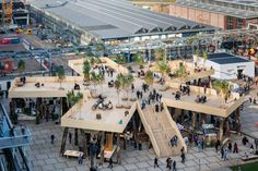 Biobasecamp pavilion aims to demonstrate the potential of timber in architecture Architecture Design Concept, Urban Design Concept, Bg Design, Urban Design Diagram, Urban Design Plan, Pavilion Architecture, Sustainable Architecture, Landscape Architecture, Residential Architecture