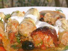 Praz umplut Cooking Recipes, Chicken, Meat, Romania, Food, Cooker Recipes, Essen, Yemek