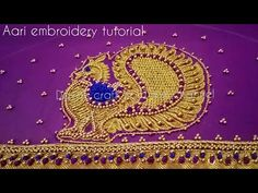 Peacock Aari work embroidery part- 2 Magam Work Blouses, Pattern Design Drawing, Peacock Embroidery Designs, Maggam Work Designs, Aari Embroidery, Silk Saree Blouse Designs, Peacock Design, Craft Work, Designs To Draw