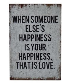 Love this 'When Someone' Wood Wall Sign on #zulily! #zulilyfinds