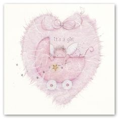 Cards » it's a girl » it's a girl - Berni Parker Designs