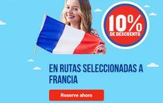 Un 10% de descuento en vuelos a Francia con Ryanair