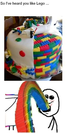 Epic cake much?!