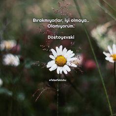 Bırakmıyorlar, iyi olmaya.. Olamıyorum. - Dostoyevski #sözler #anlamlısözler…
