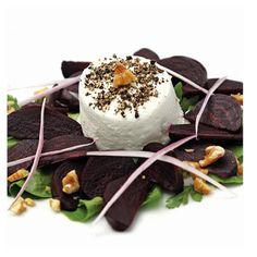 How about this wonderful looking and totally delicious salad. Beetroot and goats cheese. Full of goodness and flavour. Just one of the fab recipes in my book which can be found at http://chemocookeryshop.com/products/chemo-cookery-club
