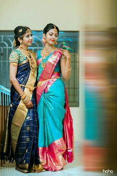 Cutwork Blouse Designs, Bridal Blouse Designs, Kerala Bride, South Indian Bride, Chiffon Saree, Silk Sarees, Tamil Brides, Beautiful Girl Photo, Saree Look