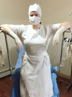 Latex Uniform, Latex Suit, Nursing Clothes, Nursing Dress, Fetish Fashion, Latex Fashion, Female Surgeon, Operating Room Nurse, Mode Latex