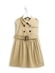 Burberry Kids 'Iliana' trench dress
