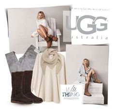 """Boot Remix with UGG : Contest Entry"" by aly2628 ❤ liked on Polyvore featuring UGG Australia, Pierre Balmain, EAST, Mulberry, ugg and uggaustralia"