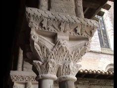 Fotos de: Francia -  La Abadía de Moissac - Capiteles