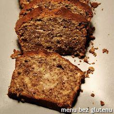 menu bez glutenu: chlebek bananowy Nigella, Banana Bread, Gluten Free, Desserts, Recipes, Food Heaven, Fit, Glutenfree, Tailgate Desserts