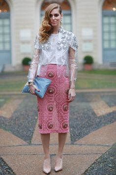 I just reacted to MFW Street Style Day Three. Check it out!