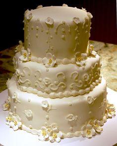 50th Wedding Anniversary Cake by Ally Cake Designs, via Flickr