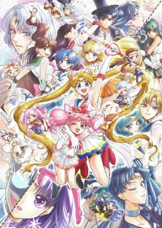 Sailor moon charters
