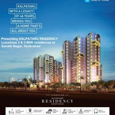 Kalpataru Residency Hyderabad  – Exclusive Offers by Auric Acres Real Estate Dubai UAE -  http://www.auric-acres.com/kalpataru-residency-hyderabad/