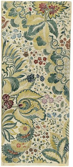 Design, c.1730, Anna Maria Garthwaite, V collection - I like the interplay and relationship between the scale of the larger elements and smaller patterns within