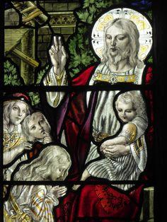 https://flic.kr/p/Jz9Cbk | Christ & Children | The medieval church of St…