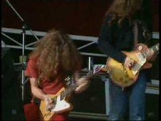 Bonus:  Lynyrd Skynyrd-Gimme Three Steps-1976 - YouTube   I learned to play the drums to this song when I was 11.  I hung out with the older guys in my neighborhood and one got a drum set.  We'd put on albums and I learned the drums, chewing Copenhagen, trying to sneak alcohol, and brag about fabricated conquests.  Best childhood EVAR