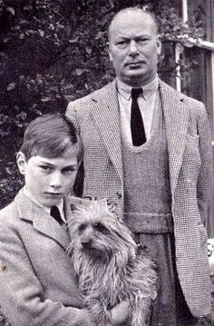 Henry, Duke of Gloucester with his son William, who tragically died young in an air crash. Prince William of Wales is named for him.