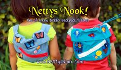 Give Yourself Some Peace of Mind with Toddler Safety Harnesses and Backpacks from Netty's Nook Review and Giveaway! US 12/12 ~ Milk Wasted