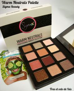 [Sigma Beauty] Warm Neutrals Palette_ Enlight Collection