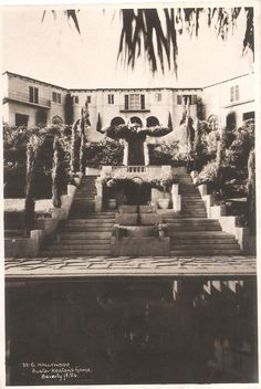 The Villa with the  pool in foreground