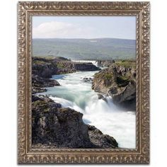 Trademark Fine Art 'Something Like That' Canvas Art by Philippe Sainte-Laudy, Gold Ornate Frame, Size: 16 x 20, Multicolor