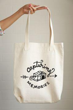 Capturing Memories Tote Bag